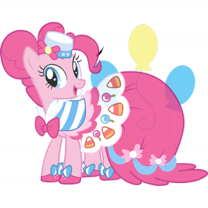 Pinkie Pie's element is Laughter.